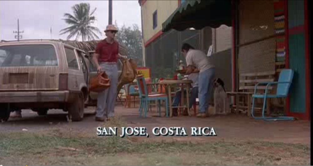 San Jose according to Jurassic Park...